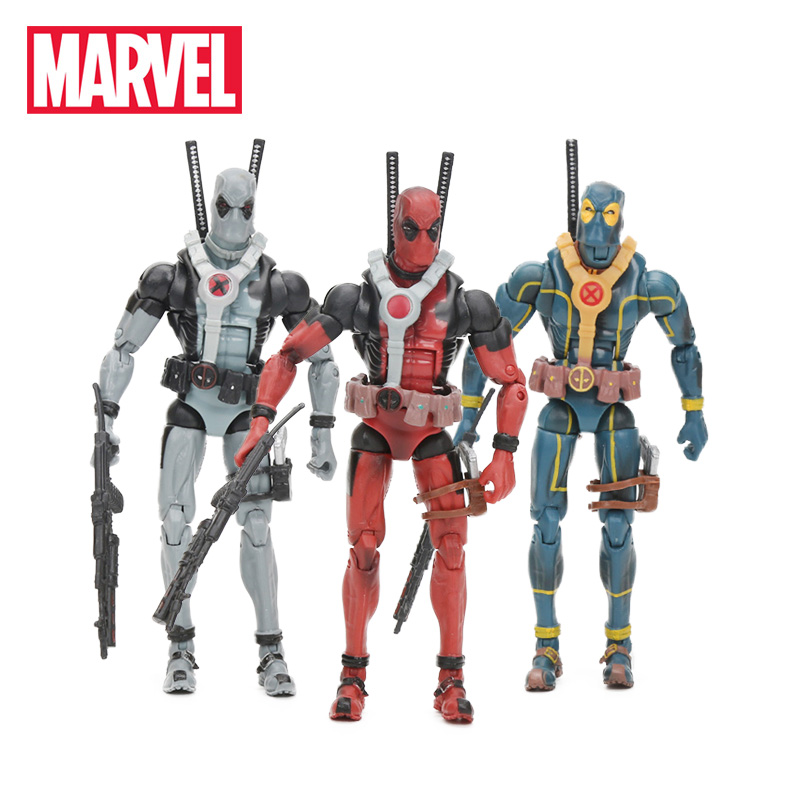 Toy Model-Dolls Marvel-Toys Action-Figure Collection Legends-Series Deadpool Pvc 15cm