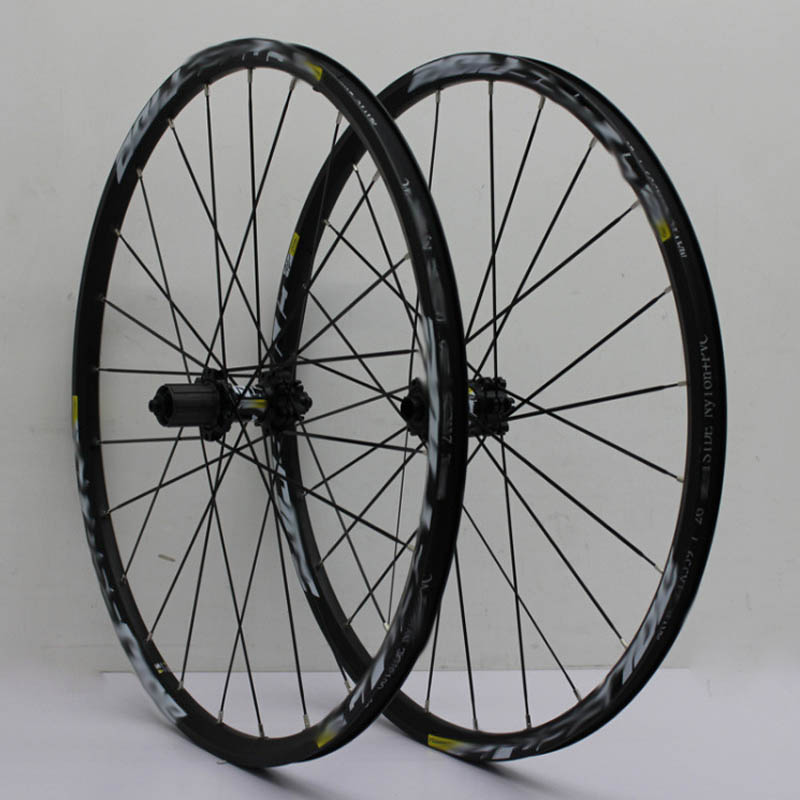 High Quality Road Bicycle Wheel Set 26 27.5 29 Inch Wheel Disc Version Of The Bike Wheel Mountain Bicycle lock MTB Bike Wheelset yueqi yq8007 diy programmable bicycle wheel light rgb 3528 144pcs led ipx6 waterproof for 26 inch bike wheel