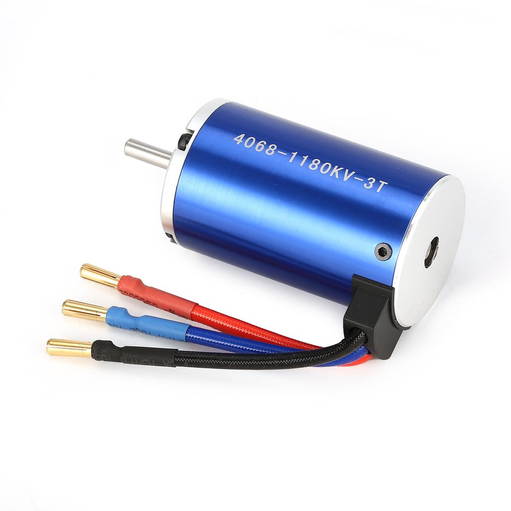 4068 4074 4092 3T KV1180 5mm Sensorless Brushless Motor for Off-road RC Remote Control Car Model Spare Parts Component RC Accs