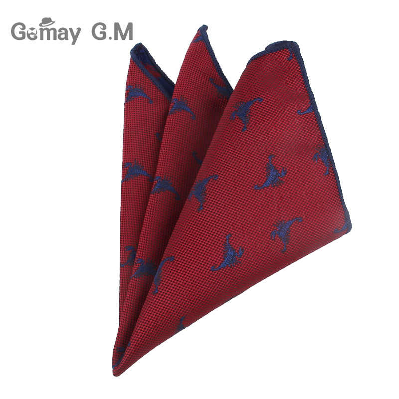 37a09dae9b5d ... Cartoon Suits Pocket Square For Men Business Chest Towel Hanky  Gentlemen Hankies Classic Animal Mens Handkerchief ...