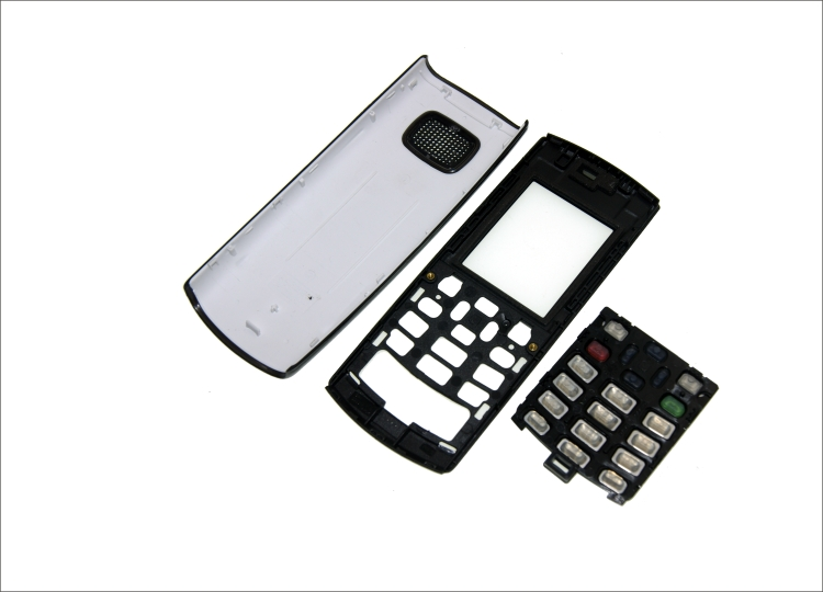 Complete Front Cover X1-00 Keyboard For Nokia X1-01  Battery Back Cover High Quality Housing+Keypad