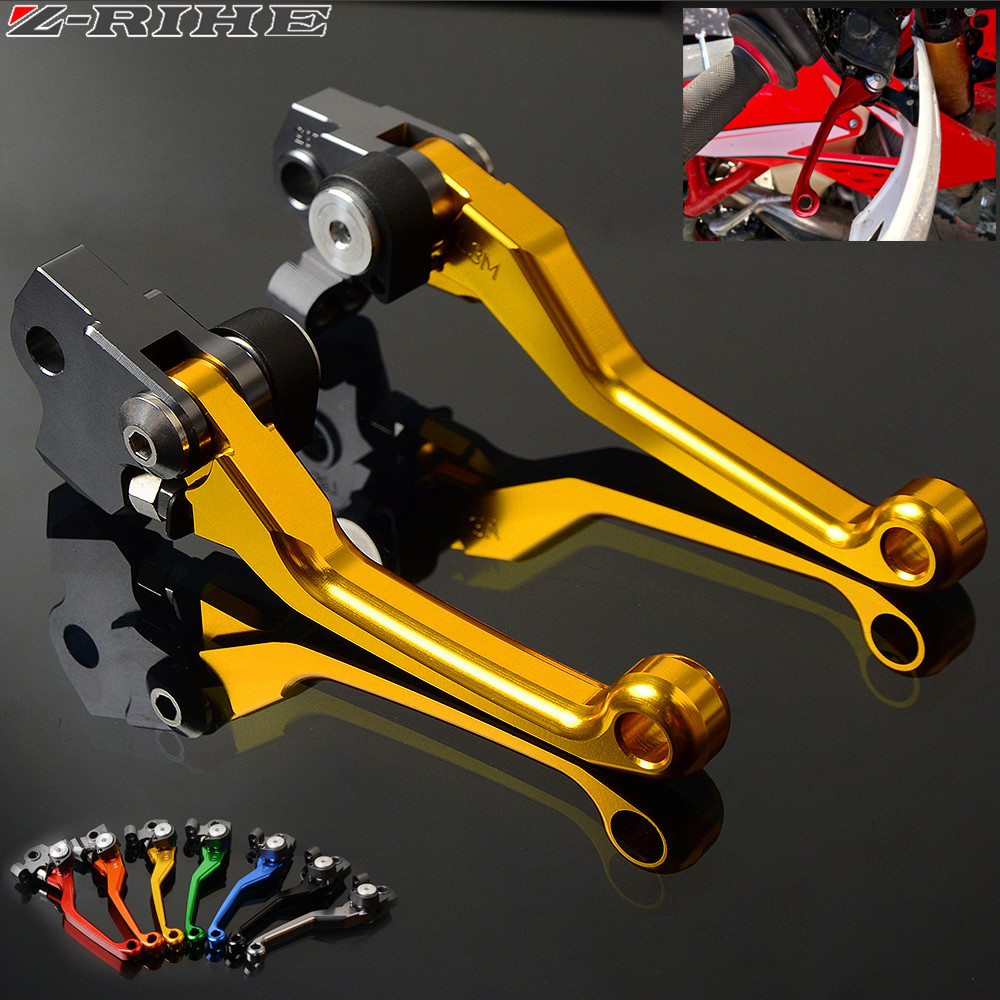 DirtBike Brakes Clutch Levers For Yamaha WR450F <font><b>WR</b></font> <font><b>450F</b></font> <font><b>WR</b></font> 450 F year 2001 - 2015 Motocross dirt bike Pivot Brake Clutch Levers image