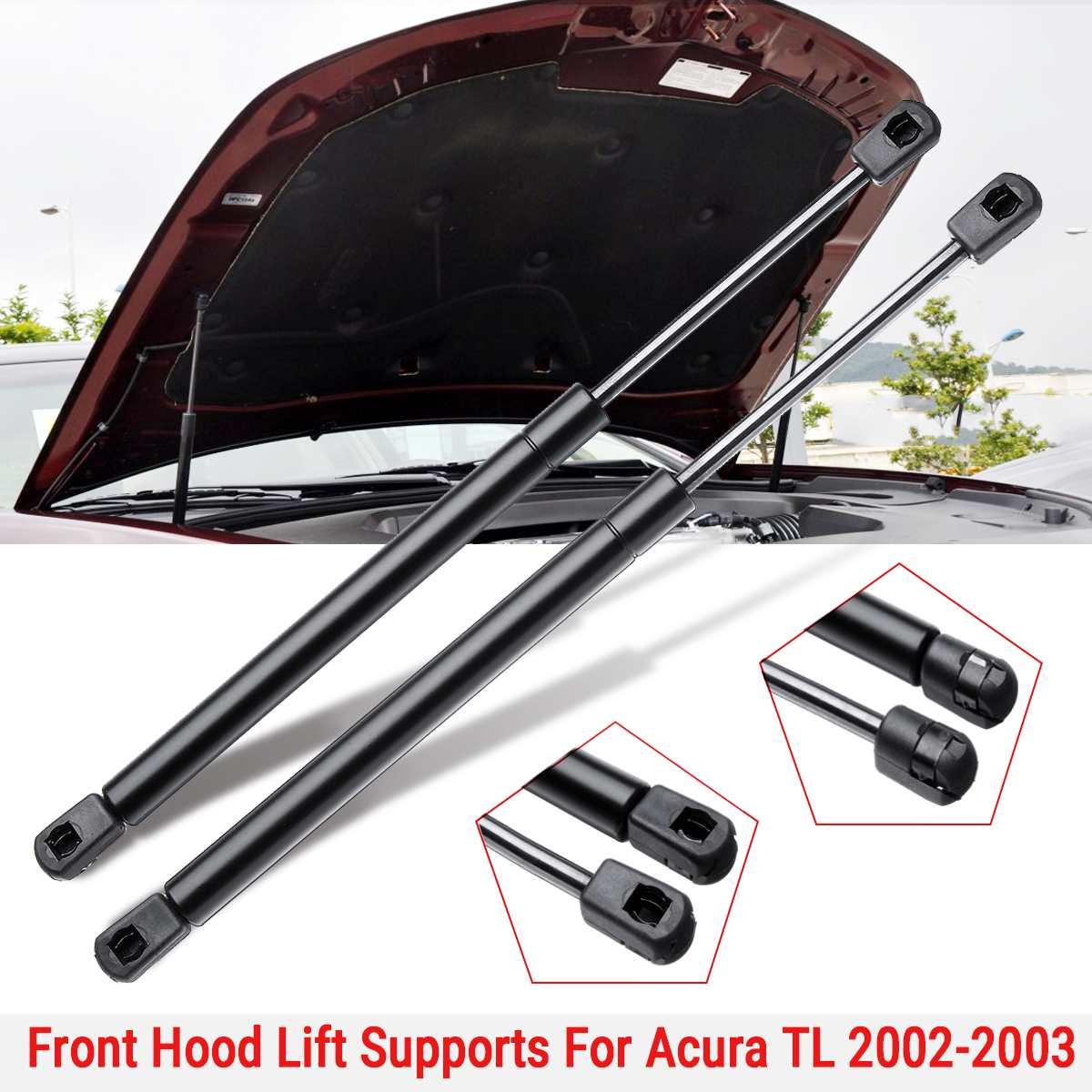 1 คู่รถฝาครอบด้านหน้าโช้คอัพ Lift Struts Strut Bar สนับสนุนแขนแก๊สฤดูใบไม้ผลิสำหรับ Acura TL ฐานประเภท-S Sedan 2002 2003