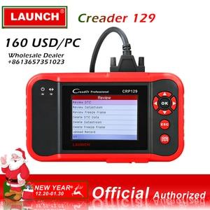 5pc/lot Launch X431 CRP129 Diagnostic Tool Wholesale Deal  Code Reader obd 2 scanner automotive car diagnose CRP 123 VIII OBD2