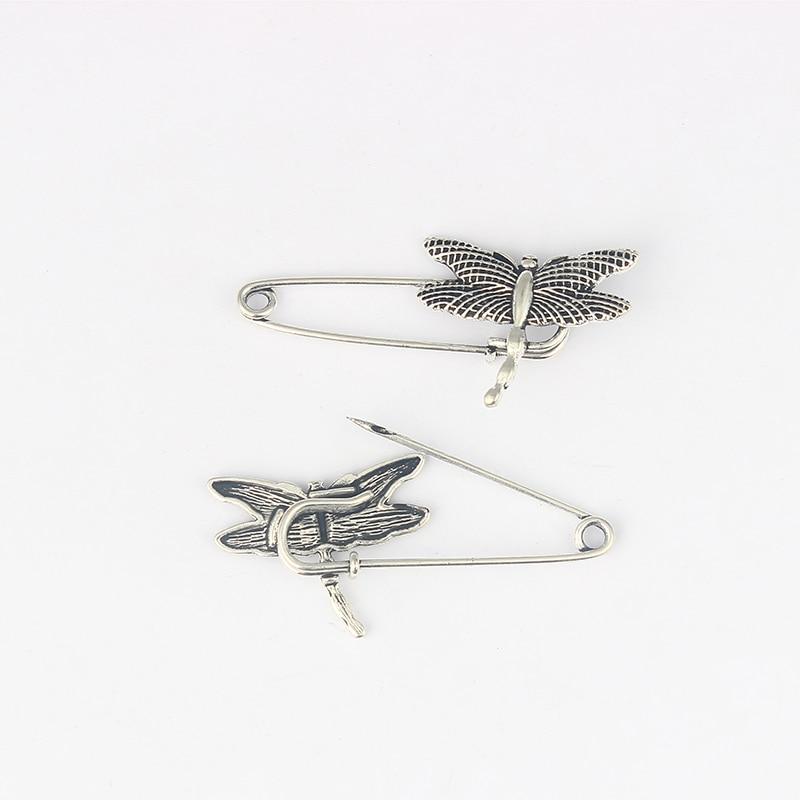 10pcs Durable Strong Metal Kilt Scarf Shawl Dragonfly Safety Brooch Pin