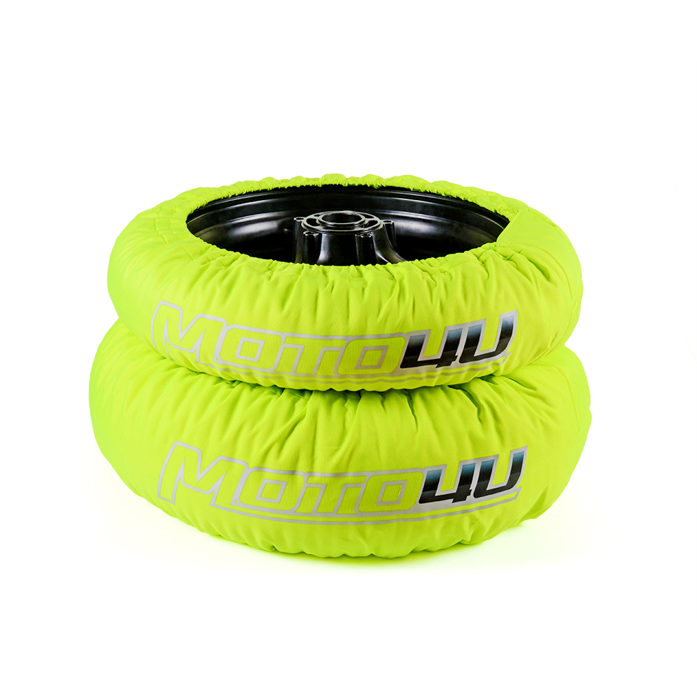 Tire warmer green