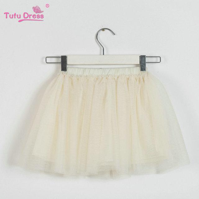 2018 Spring Summer Lovely Fluffy Soft Tulle Girls Tutu Skirt Pettiskirt 5 colors Girls Skirts for 2-12Y Kids for All Seasons