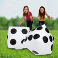 30 CM Inflatable White Dice Inflated PVC Sieve Hot Toy Sports Kids Outdoor Game Play Tools Stage Props Children Party Supplies