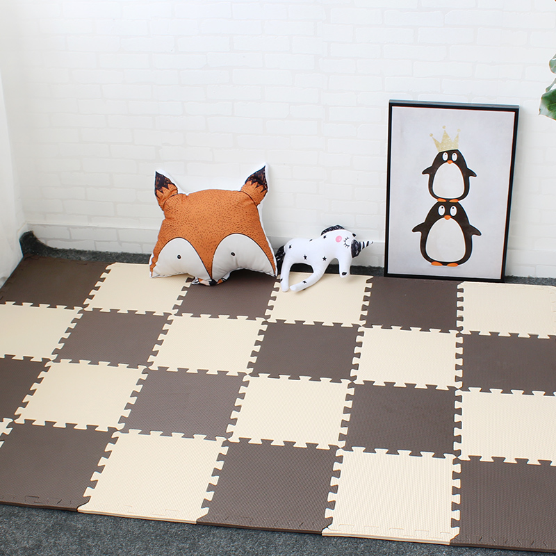 Kids Playing Mat Baby Crawling Carpets Play Mat For Children EVA Foam Play Puzzle Mat With Borders 9 Pcs A Lot Each 30cmX30cm