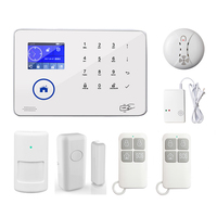 Smart Home Wireless Mobile Phone Control WiFi GSM 3G Security Burglar Alarm Systems PIR Motion Detector Sensor Supported