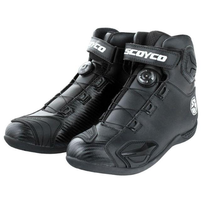 Scoyco MBT010 Motorcycle boots men bota Motorbike Motocross Automobile Boots Sport shoes Off road racing motocicleta botas women