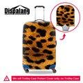 Nova Estampa de leopardo Tampa de Proteção de Bagagem Para 18-30 polegada de Moda Mala Trolley de Viagem Cobertura de Bagagem Elástica Legal Acessórios