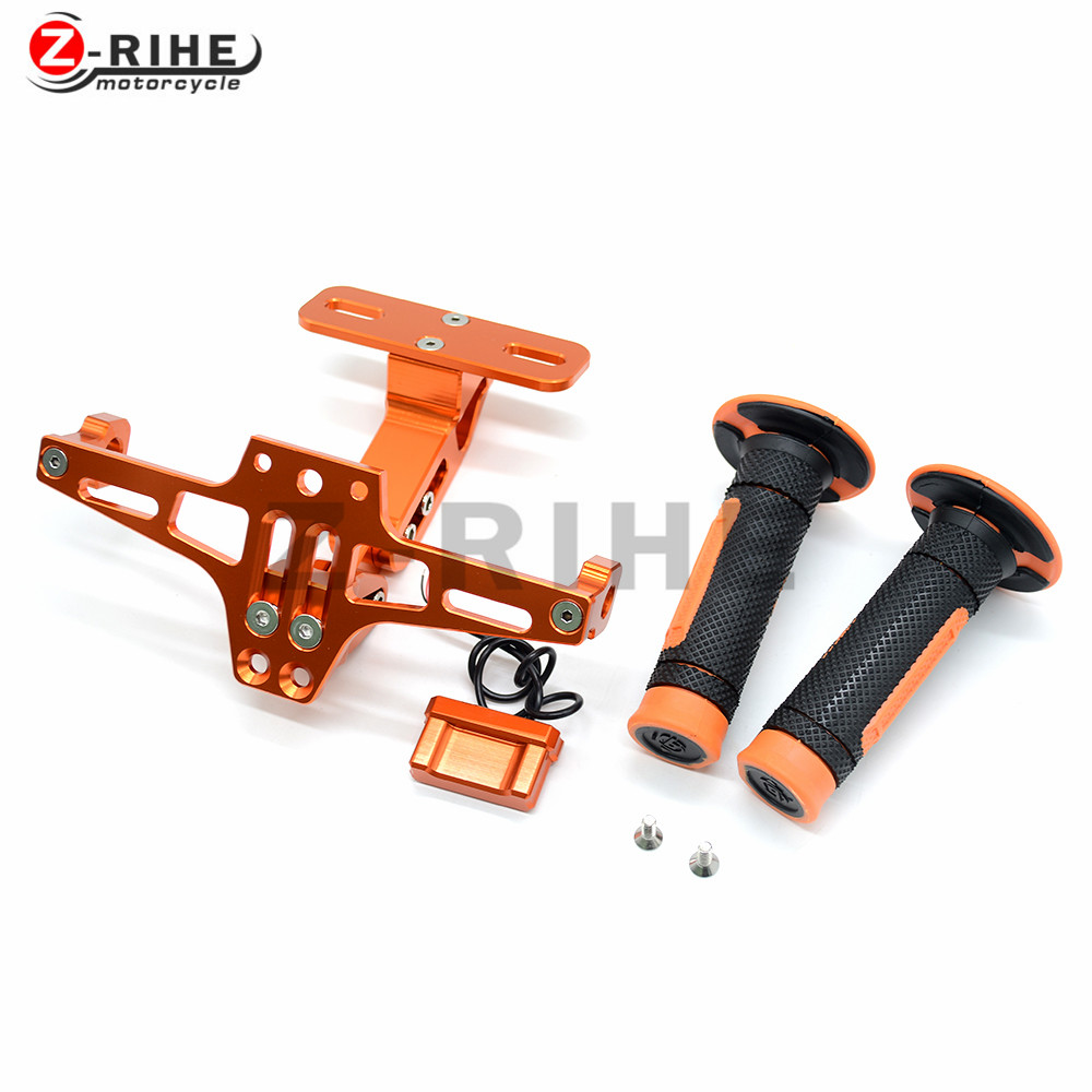 Universal Fender Eliminator License Plate Bracket Ho Tidy Tail and off-road vehicle handle grips for ktm 65SX/XC  85SX/XC  105SX motorcycle tail tidy fender eliminator registration license plate holder bracket led light for ducati panigale 899 free shipping