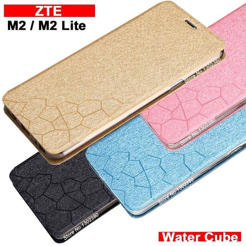 ZTE Nubia M2 case cover leather luxury water cube Pu flip case for ZTE Nubia M2 Lite case 4 style ZTE Nubia M 2 Lite case cover