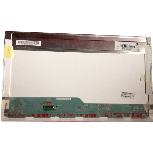 LALAWIN N173HGE L11 fit  B173HW01 V.0 V.2 B173WH02 V.0 LP173WF1 TLA1 TLA2 17.3 inch Laptop Lcd Screen 1920*1080 with 40 pin