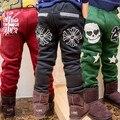 Yn-1001, muchachos de los niños de las bragas, otoño invierno doble capa gruesos pantalones casuales calientes