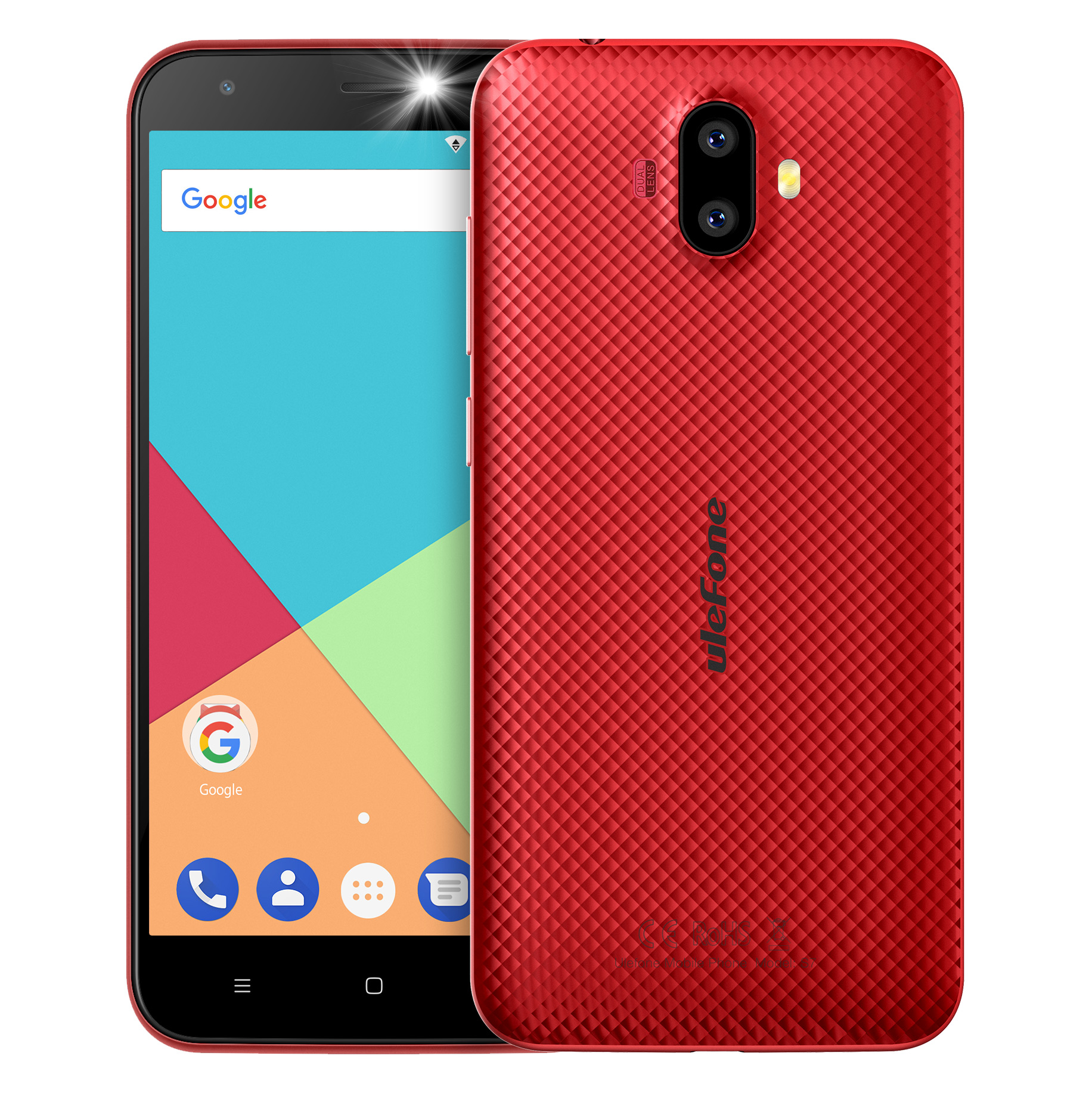 Ulefone S7 2GB RAM 16GB ROM 3G Smartphone Android 7 0 5 0 Inch MTK6580 Quad