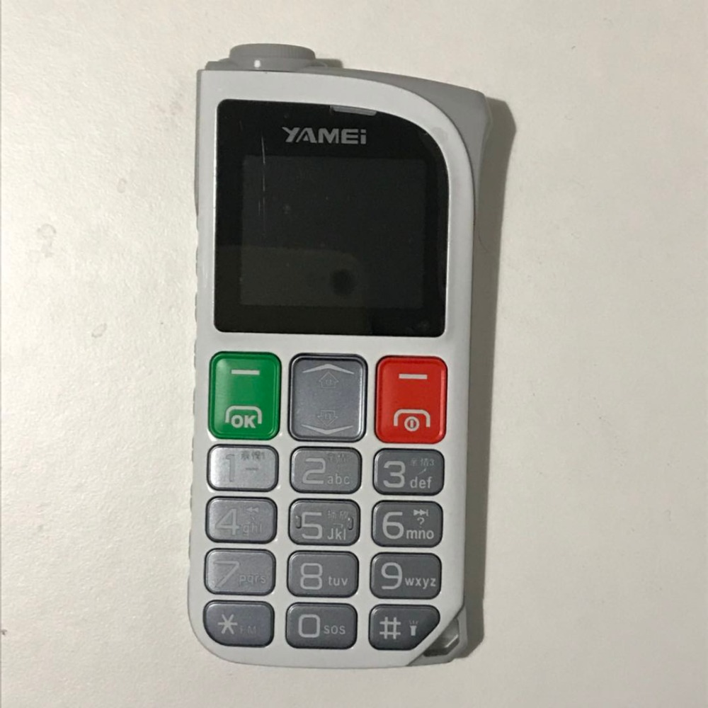 Bar Senior Mobile Phone Low Price Big Keyboard Torch Single Sim SOS For Elder People P416