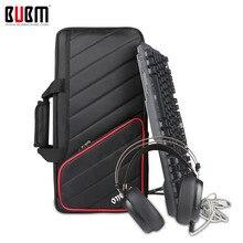 BUBM электронный-/e-Спорт Путешествия переноски плеча рукава Дело, идеально подходит для клавиатуры, мыши, Коврик для мыши, гарнитуры и более