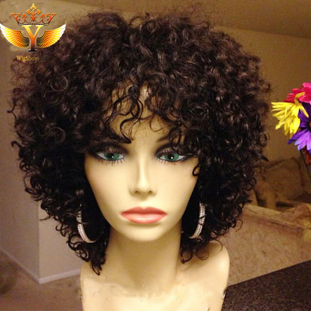 Short Human Hair Wigs Brazilian Human Hair