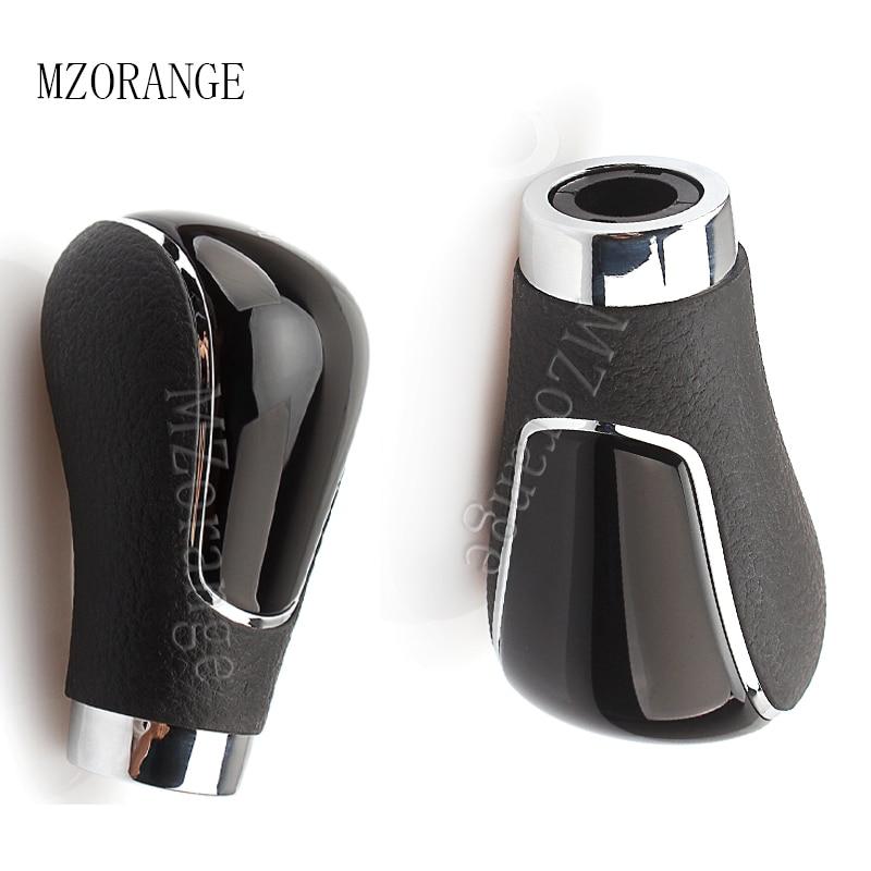 MZORANGE For Mazda 6 3 5 8 CX-5  Automatic Transmission Gear Shift Knob Head Black
