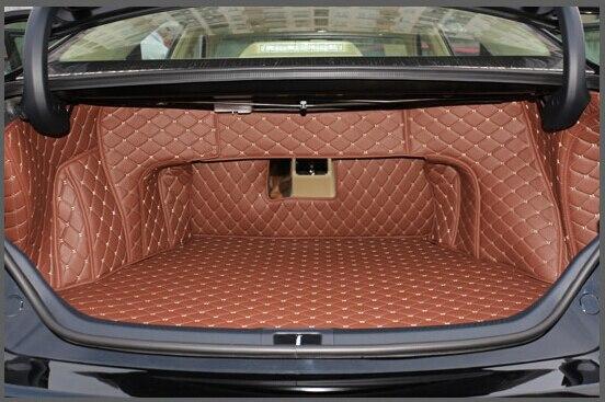 Хорошее качество! Специальные материалы ствола для Toyota Camry 2016-2012 прочные водонепроницаемые ботинки ковры лайнер для Camry 2015, Бесплатная доста...