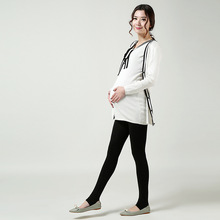 2016 New Fashion Gravida Maternity Pants Care Belly Trample Feet Leggings Clothes For Pregnant Women Ropa Mujer 3 Colors