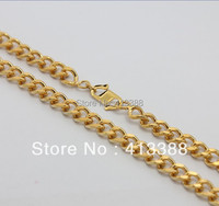 NEC1560 Min Order Of 15 Mix Order Free Shipping New Arrivals Trendy Jewellery Males Necklace Gold