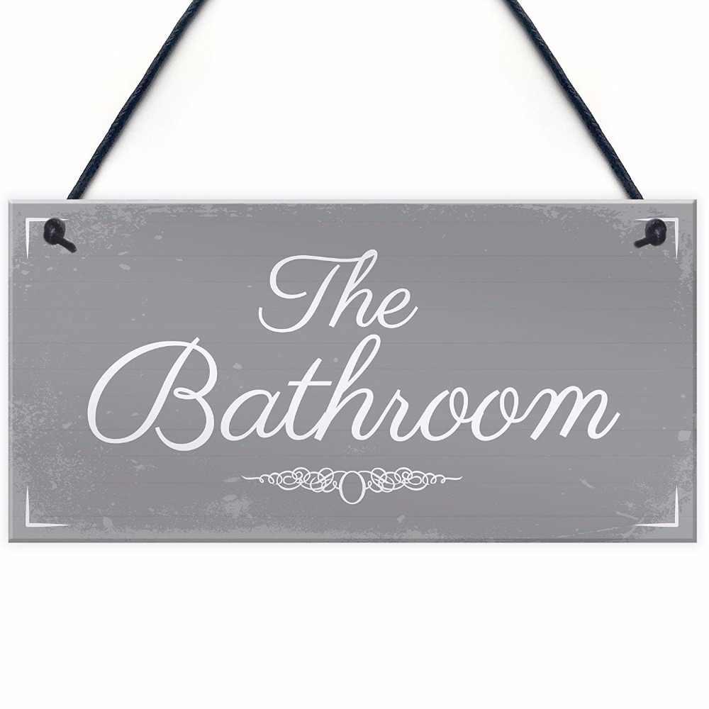 Shabby Chic Hanging Door Sign Plaque