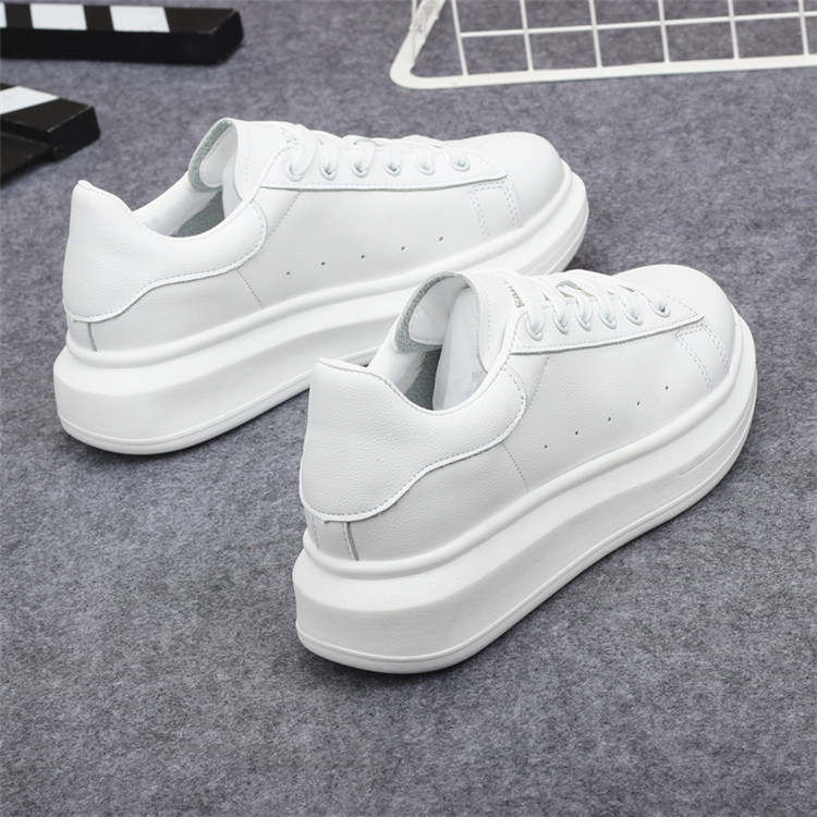 New Fashion Vulcanize Shoes Trainers Women Sneakers Casual Shoes Basket Femme PU Leather Tenis Feminino Zapatos Mujer Plataforma 78
