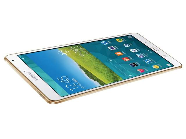 US $250 91 18% OFF|Samsung Galaxy Tab S 8 4 inch T705 4G+WIFI Tablet PC 3GB  RAM 16GB ROM Quad core 4900mAh 8MP Camera Android Tablet-in Tablets from