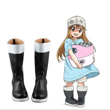Anime Hataraku Saibou Cells At Work Platelet Cosplay Shoes Halloween Carnival Boots Custom Made mac at work