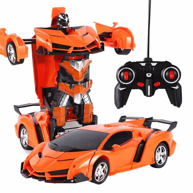 Transformation Robots Sports Vehicle  Toys Gifts For Boys