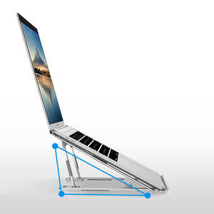 Image 3 - محمول متعدد الوظائف قابل للتعديل الكمبيوتر المحمول قوس سطح المكتب الحرارة طاولة الكمبيوتر المحمول ميسا escritorio ماك بوك باد دعم