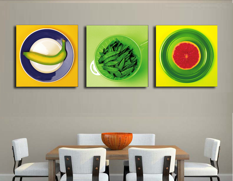 US $8.62 31% OFF|10 Designs beautiful fruits pictures for kitchen dining  room wall decor unframed morden canvas art fruit still life paintings-in ...