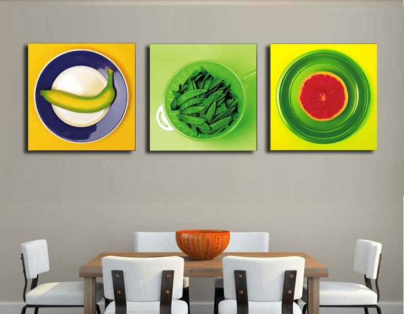 10 disegni bella frutta immagini per sala da pranzo cucina decorazione della parete senza cornice morden