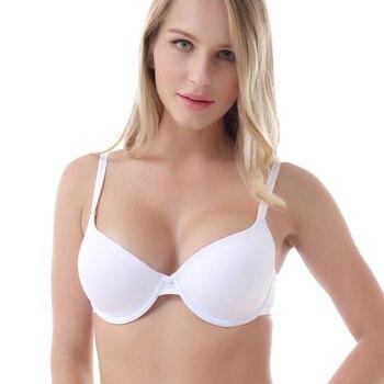 Women Bra Cup Underwire Solid Underwear Women Push Up Bras