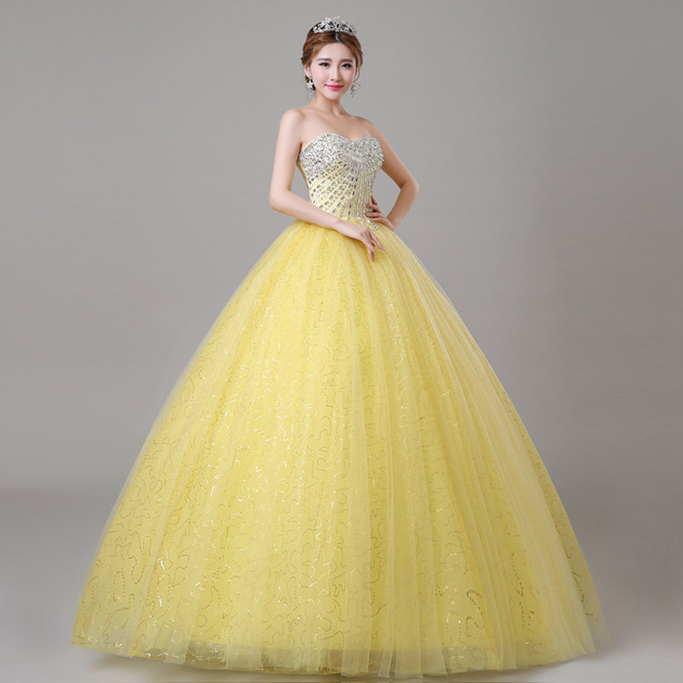 Compare Prices on Quinceanera Dresses Yellow- Online Shopping/Buy ...