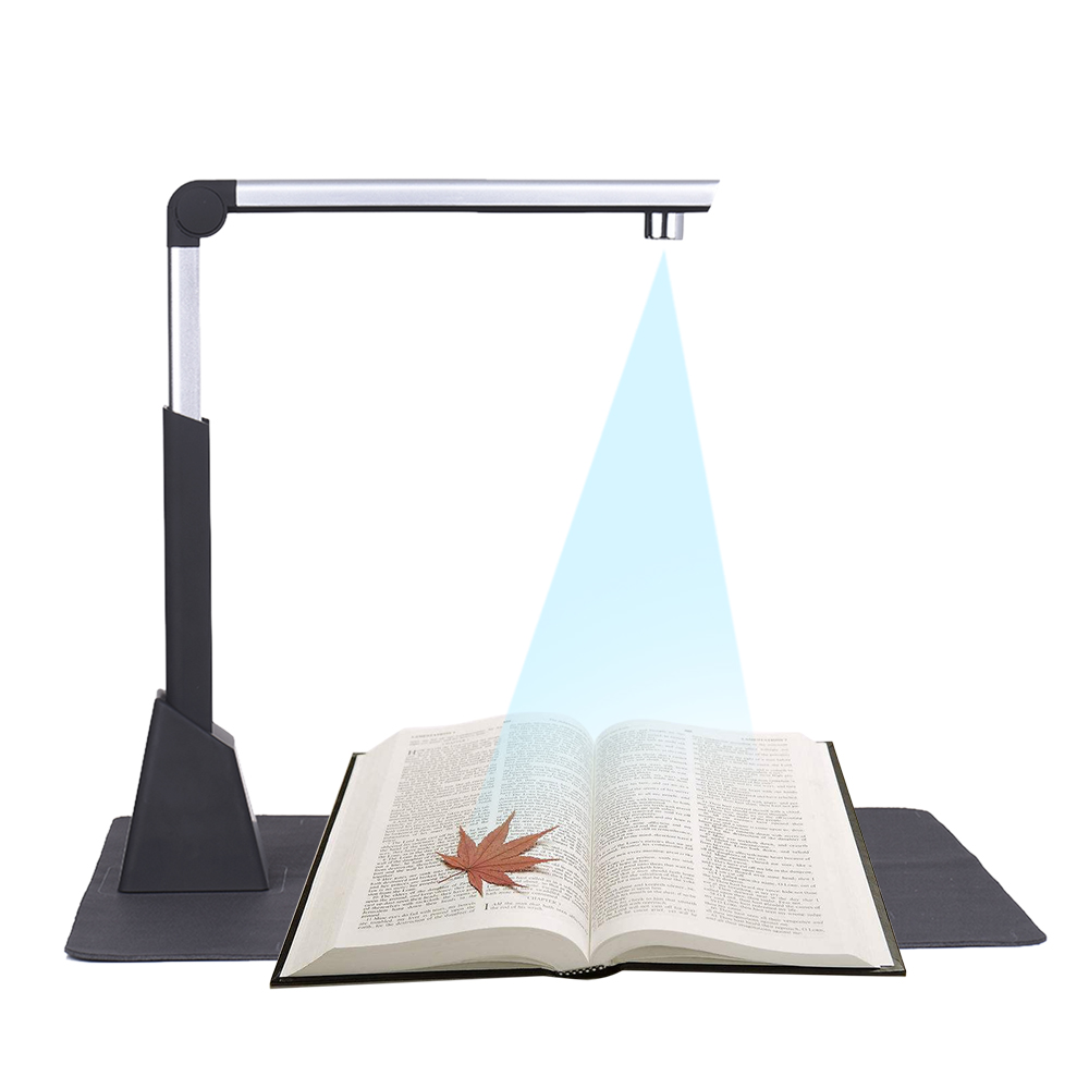 Portable A3 Document Scanner Adjustable High Speed USB Book Image Camera 10 Mega-pixel HD High-Definition Scanning Size A4 A5 A6 l1000 portable hd 10mp 3672x2856 usb camera photo image document book a3 a4 scanner visual presenter high speed ocr scanner a3