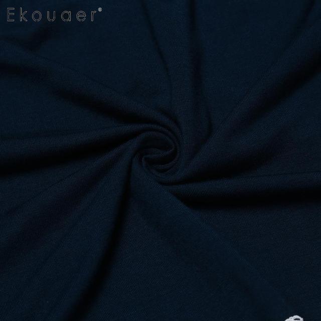 Ekouaer kobiety sen dno spodnie bielizna nocna miękkie koronki wykończenia elastyczny pas Plus kobiet piżamy krótkie spodnie bielizna nocna Plus rozmiar tanie i dobre opinie WOMEN Spać dna Szorty 9243 Lato Rayon Floral Jodełkę 95 Rayon 5 Spandex Wine Red Navy Blue Black XL XXL 3XL 4XL 5XL