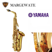 82Z Brand Alto Saxophone Eb Sax Musical Instrument Electrophoresis Gold Professional Grade Gold Lacquer Alto Sax Mouthpiece