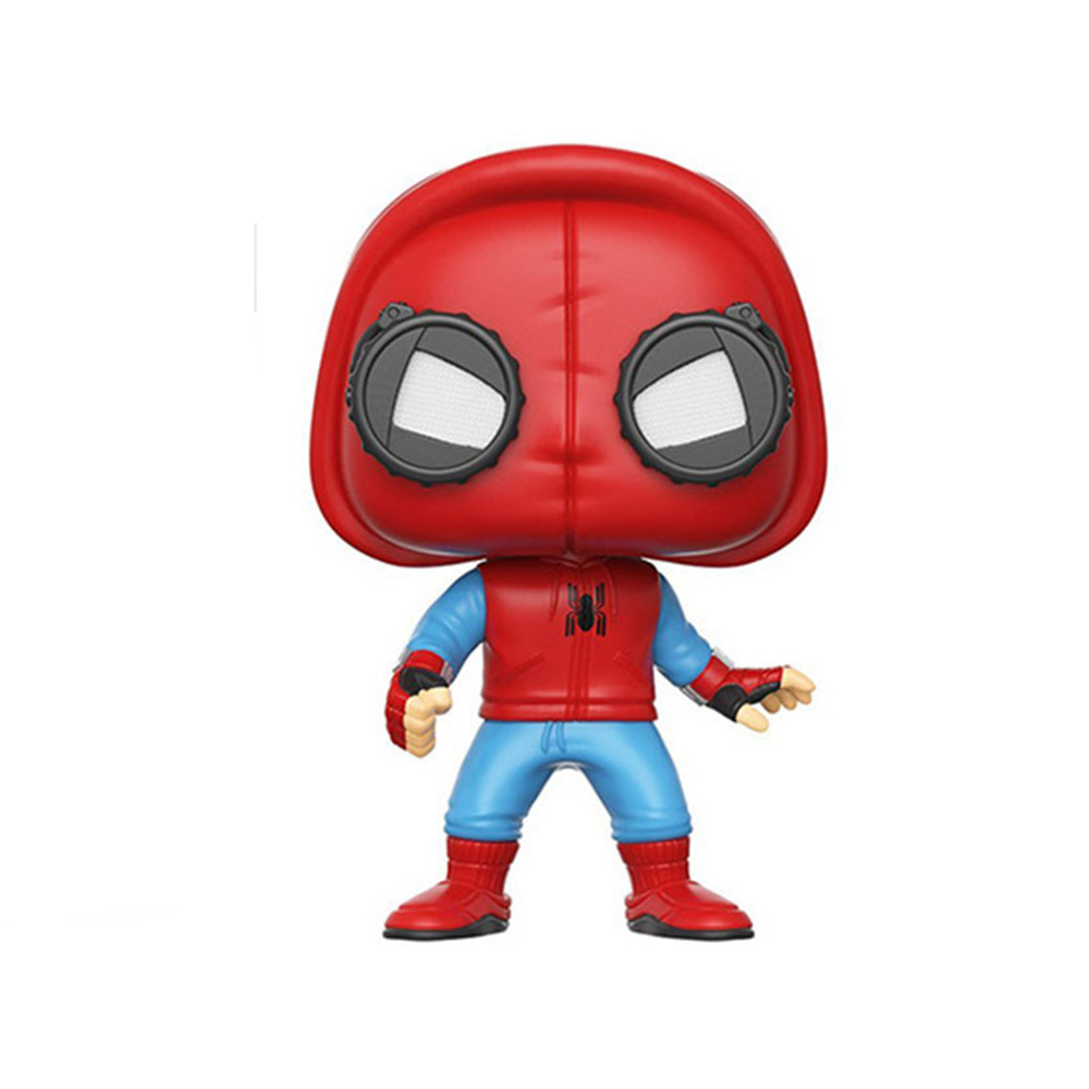 Novetrend Pinata Toy Spider-Man Homecoming Spiderman PVC Decoration Suit Bobble Head Vinyl Figure Collectible Model Toy oyuncak  funko pop official spider man homecoming spiderman new suit vinyl action figure collectible model toy with original box