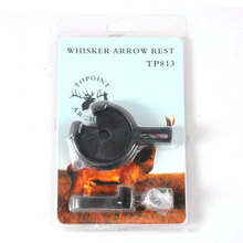 Free shipping Arrow Rest Compound Bow Rest Recurve Bow Brush Takedown Bow hunting Slingshot Brush