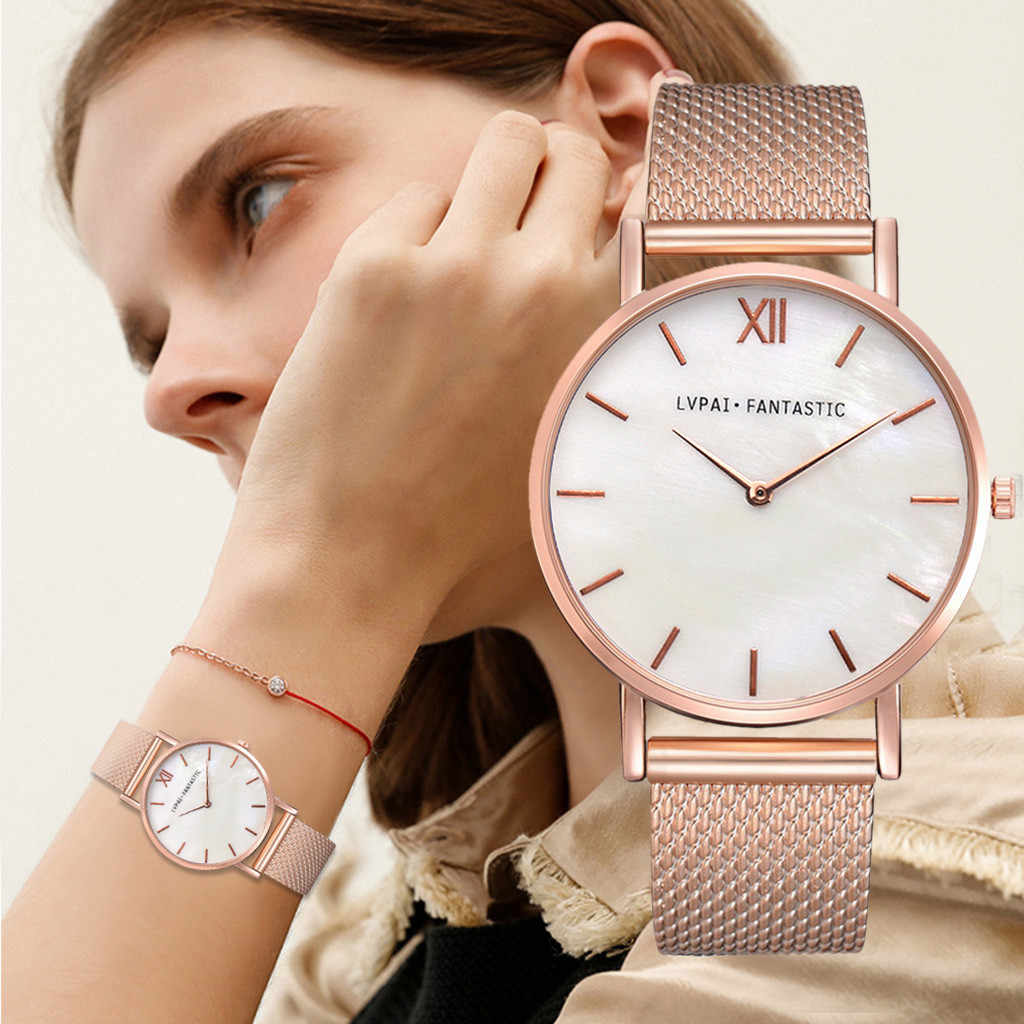2019 Relogio Feminino Lvpai Women Casual Quartz silicone Band New Strap Watch Analog Wrist Watch Montre Femme Reloj Mujer saat