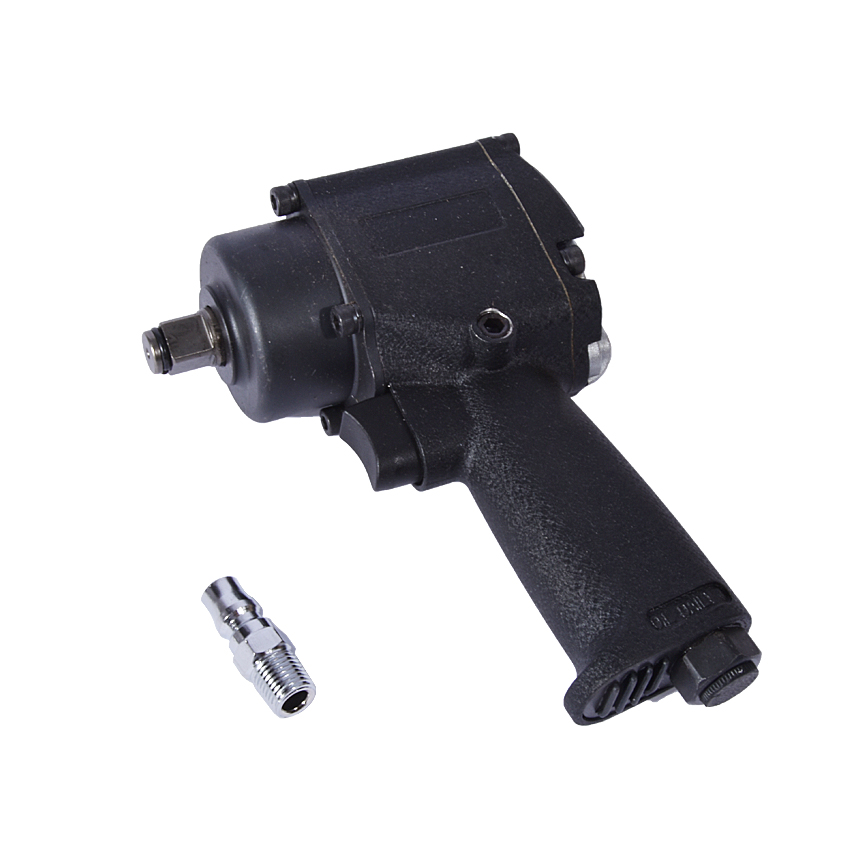 цена на 1/2 Inch Mini Pneumatic / Air Impact Wrench Air Impact Wrench Car Repair Auto Wrench Tool double ring hammer