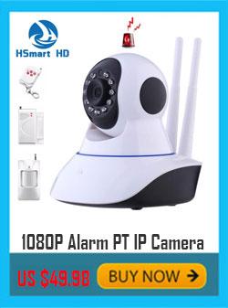 Mini 2.0MP 1080P HD Wireless WiFi P/T Onvif IR IP Camera Alarm System