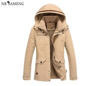 Inverno uomini casual da uomo coats army marca clothing giacche a vento giacche a vento cappotto taglia m-4xl nswt215