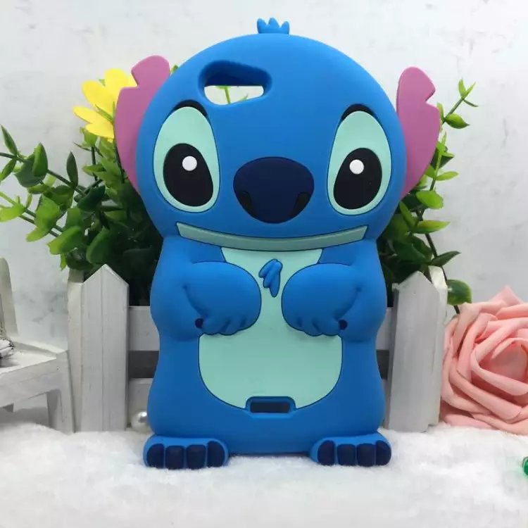 Luxury Coque Fundas For Wiko Pulp 4G 5.0 Inches Phone Case 3D Silicone Lilo Stitch Lovely Back Cover Bags Skin For Wiko Pulp 4G