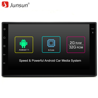 Junsun 7 R178 2 Din Car Multimedia Play Tap PC Tablet Android 7 1 2 GPS