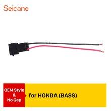 Seicane Top car Audio Speaker Cable Adaptador de Cablagem para HONDA BAIXO